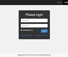 codegrope-login-template